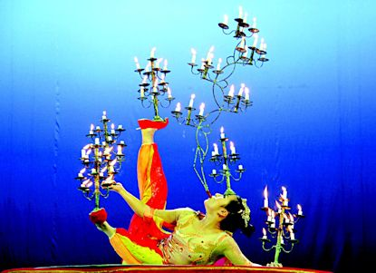 Chinese Acrobats From Beijing China