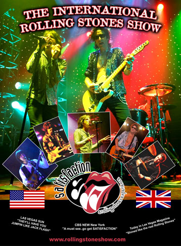 Satisfaction - The International Tribute to The Rolling Stones Show