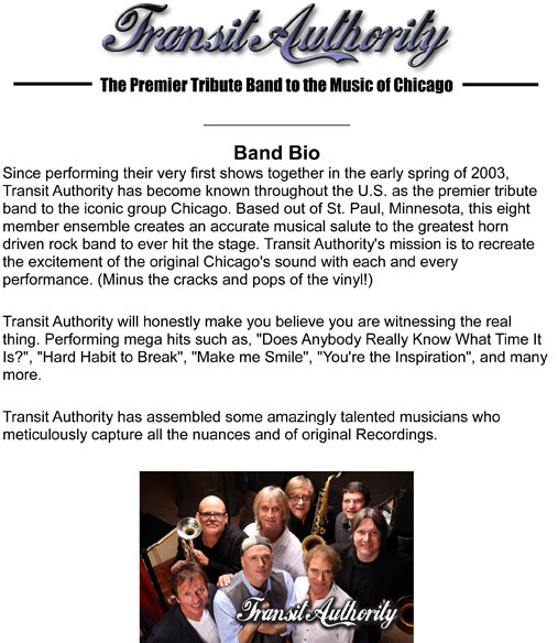 Transit Authority Band